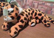 Stofftiere - 2 Tiger