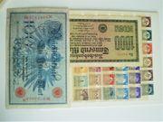 Briefmarken-Münzen-Scheine