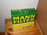 Luftfilter MANN C1833