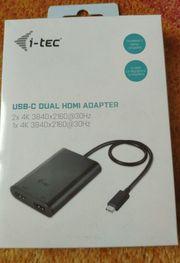 i-tec USB-C Dual 4K HDMI