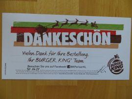 Tickets / Eintrittskarten - Burger King Lieferservice Gutschein