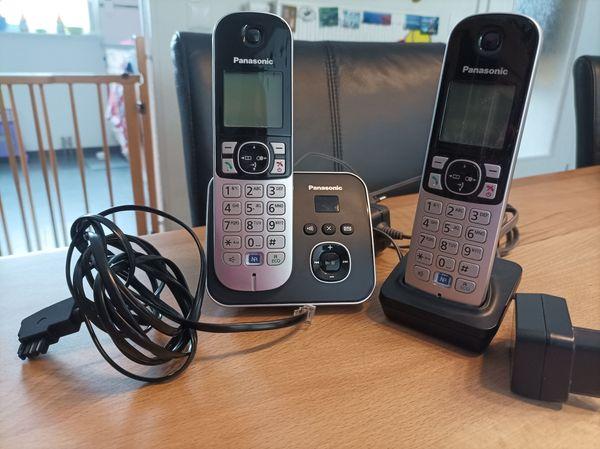 Panasonic KX-TG6821GB DECT Schnurlostelefon mit Anrufbeantworter