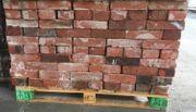 Rote Reichsformat Ziegelsteine Backsteine Mauerziegel