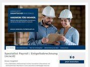 Spezialist Payroll Entgeltabrechnung m w