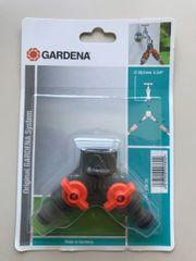 VERTEILER von GARDENA 2-Wege-Ventil Wasserverteiler
