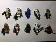 Diverse Star Wars Lego Figuren
