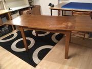 Massiv-Holztisch 120 x 75 cm