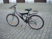 Damen-Fahrrad 26 Zoll volle Federung