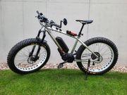 E-Fatbike mit Bosch-Motor