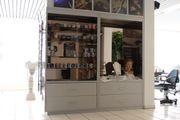 Ladeneinrichtung Verkaufsregal Warenschrank Spiegelschrank Fächer