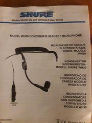Mikrophon SHURE Head Set