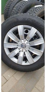 VW Tiguan 4 Winterkompletträder auf