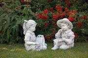 Garten Figur aus Beton Kinder