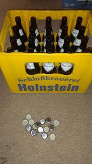 Schloßbrauerei Holnstein Bierkasten Bierkiste Bierflaschen
