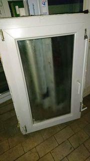 2 Badfenster mit Jalousie 76