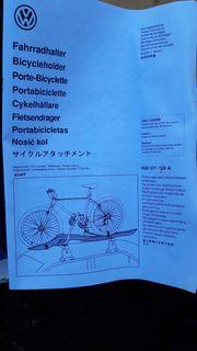 Fahrradträger Golf Variant