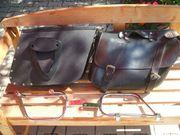 Motorrad Leder Packtaschen von Suzuki