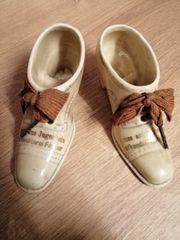 Antike Porzellan Schuhe
