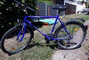 Herren Fahrrad blau
