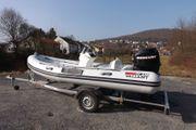 Valiant Schlauchboot mit 60 PS