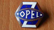 Opel Rüsselsheim Wappen Musterbrosche von