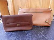 2 vintage Damenhandtaschen