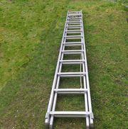 Seilzugleiter Alu 2x13 Stufen