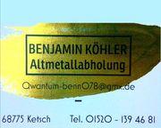 Schrott Alteisen Altmetall Entsorgung