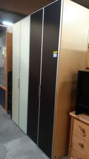 Kleiderschrank 4 türig 160x230x60 - HH14412