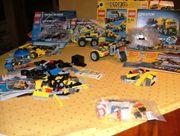 Konvolut Lego Racers Creator Force