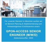 GPON-Access Senior Engineer m w