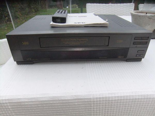 VIDEORECORDER, SEG VCR3000, läuft , aber Kassette wird nicht angenommen