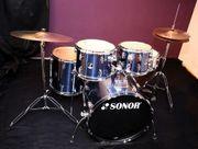 Schlagzeug drum set Sonor 507