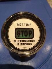 Stop Anzeige Oldtimer Traktor
