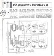 C 64 Bauanleitung DIA-Steuerung