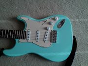 Stratocaster Aria mit Fenderpickups