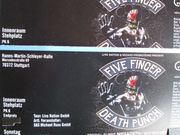 2 Karten für FIVE FINGER