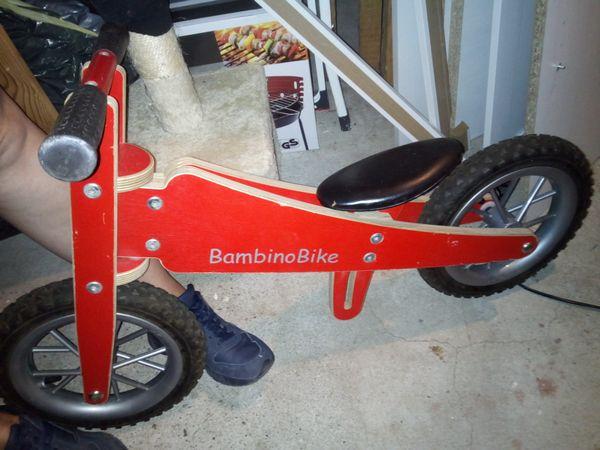 Holzlaufrad » Sonstige Fahrräder