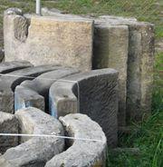 Brunnen Antik Sandstein Brunnenring Zandsteen