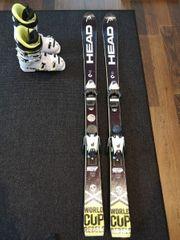Ski uns Skischuhe Head