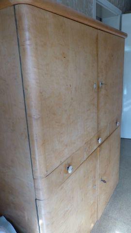 Bild 4 - Kleiderschrank Wäscheschrank Spiegelkommode alles in - Weinheim