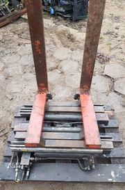 Drehbare gabelklammer mit Drehbare zinken