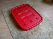Rote Duplo Lego Rollkisten
