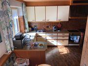 Küche mit Tisch Eckbankgarnitur