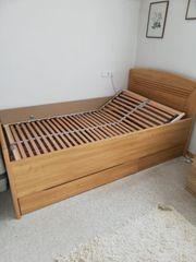 Bett 200cm x 120cm Erle