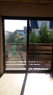 Balkontür Terrassentür braun