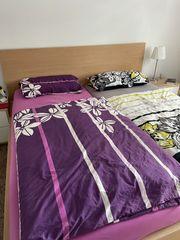 Doppelbett Malm von Ikea - neuwertig