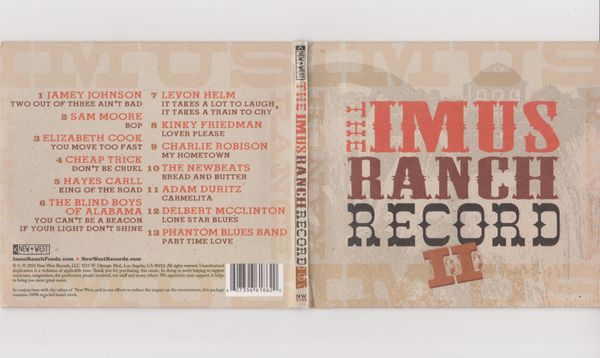 CD The IMUS Ranch Record