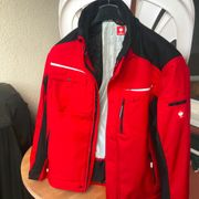 Softshelljacke e s motion rot