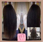 Haarverlängerung mit russischem Echthaar premium
